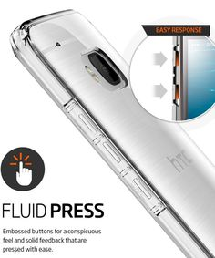 Spigen Ultra Hybrid Case HTC One M9 Space Crystal
