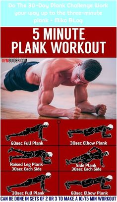 Do The Plank Challenge Work your way up to the three-minute plank – … – 30 Day ABS Workout Plans Plank Workout, Gym Workout Tips, Workout Videos, At Home Workouts, Workout Exercises, Workout Motivation, Male Workouts, 30 Day Plank Challenge, Workout Challenge