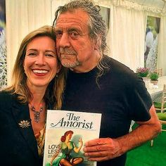Robert Plant at Hay Festival in the UK on 4 June 2017.