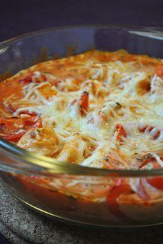Küchenzaubereien: Überbackenes Hähnchen mit Tomaten
