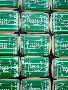 Why study the playbook when you can study these cookies?