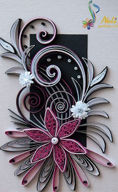 neli: Quilling card - ( 10.5 cm - 15 cm )