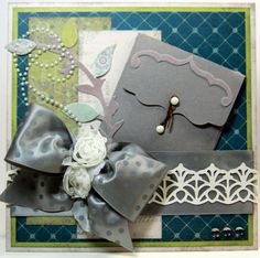 by Kathy Skipper.... card sentiment is inside the little envelope on the front (pinned from here because card NOT on her blog)
