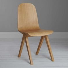 BuyBethan Gray for John Lewis Newman Plywood Dining Chair, Oak Online at johnlewis.com