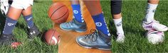 Custom Socks Fundraiser for schools, sports teams, and more!
