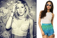Cheap Celeb Finds: Ellie Goulding in the Shell Top