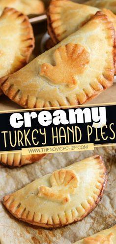 Creamy Turkey Hand Pies