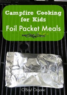 Camping is so much fun and who wouldn't like campfire meals. These campfire cooking for kids: Foil Packet Meals are easy to prepare & and serve for a crowd. Camping Info, Camping Glamping, Camping Hacks, Camping Recipes, Camping Outdoors, Camping Guide, Camping Stuff, Camping Dishes, Make Ahead Camping Meals