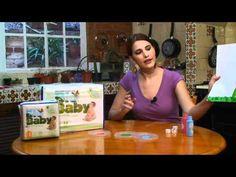 Enseña a tu bebe a pintar con los dedos - YouTube