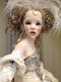 Fashion Dolls, Fashion Art, Ghost Dresses, Big Eyes Artist, Human Doll, Haunted Dolls, Doll Wigs, Doll Parts, Doll Repaint