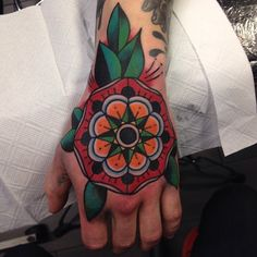 Filip Henningsson as featured on Swallows & Daggers. www.swallowsndaggers.net #tattoo #tattoos #mandala