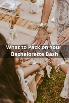 Check out the ultimate beauty must-haves for your bachelorette weekend 💍: Beauty 101, Beauty Must Haves, Bachelorette Weekend, What To Pack, First Night, Night Out, How To Plan, Makeup, Check