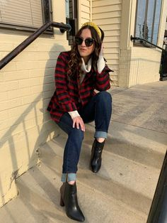 Cabi launched their New Arrivals collection this week and I am here to say, it is so good you guys! Plaid Jacket, Outfit Posts, Color Pop, Fall Outfits, Lisa, Autumn Fashion, Product Launch, Turtle Neck, Guys