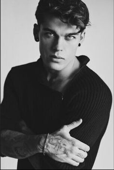Stephen James tattooed guy