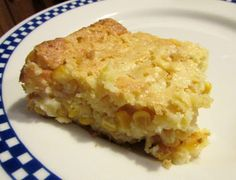 Cooking with Carlee: Corn Casserole - A Guest Post by MiMi; uses canned corn and jiffy corn mix