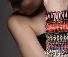 Creatieve DIY handgemaakte sieraden en bloemen cap