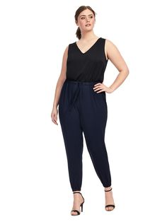 Gigi Jumpsuit in Bla