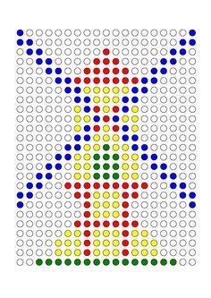 Materiales para trabajar la atención nuestros alumnos tendrán que realizar una serie de dibujos en una plantilla siguiendo el modelo de colores.