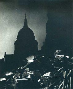 #Bill Brandt #photography.  St. Paul's, London, WW2