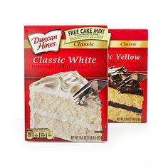 Duncan Hines® Classic Cake Mixes at Big Lots.