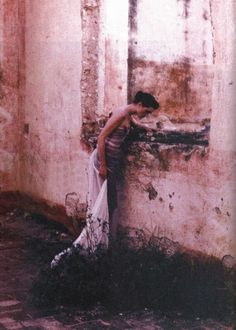 Photographed by Deborah Turbeville forHarper's Bazaar US March 1998