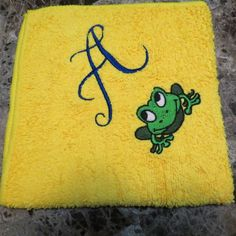 Embroidered Wash Cloth Personalized by HeartSongCreativeExp, $10.00 Sweet Gift Idea!