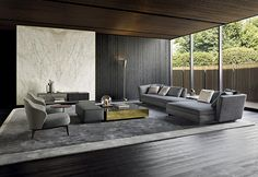 Minotti furniture: when Italian design becomes international