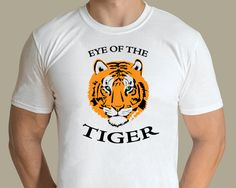 Eye Of The Tiger Design by graphic artist Jarod. Available from www.rocknprint.nl