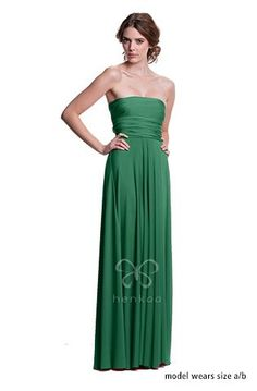 e52967bbe6aa Good bridesmaid color or maid of honor color. Abiti Da Damigella Verde  Smeraldo