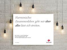 Harmonisches Zusammenleben geht mir ÜBER ALLES lässt sich streiten. #wendesatz