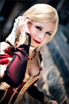 Foto: Lovely Lucretia Borgia Assassin's Creed Brotherhood by cosplayer: http://www.deviantart.com/art/Do-you-observe-me-327408074