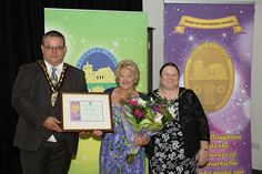 Christine Kavanagh – Lifetime Achievement Award winner for has been voluntarily running an over 60s Club at the Memorial Hall for over 30 years now, On top of that, she has also been the chairperson for the Memorial Hall.
