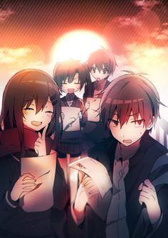 Ayano, Shintaro, Takane, & Haruka   Kagerou Project