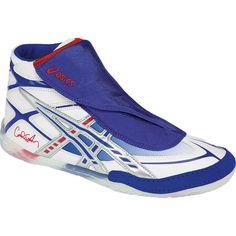 Adidas HVC juventud laced zapatos de lucha Cliff Keen firma personalizada