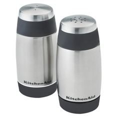 Kitchen Aid Salt & Pepper Shakers - Black @ Target