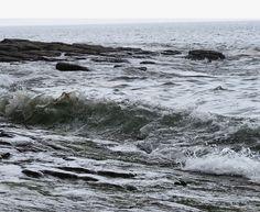 Moody waters. Amroth, Wales.
