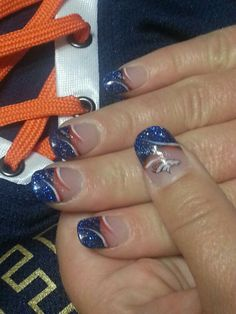 Denver Broncos Nails Great Way To Support My Favorite Team Throughout