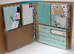 December Daily™ album created by design team member Kim Holmes using our December Documented collection and Christmas SN@P! Set