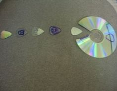 How to Make Guitar Picks from CDs