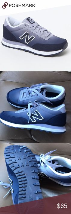 NEW BALANCE 501 gradient running sneakers Worn once New Balance 501 gradient running sneakers. Women's size 7. Blue ombré. Gorgeous colors! Only tried on & worn in house once! Pristine condition!  No modeling. No trades! Open to reasonable offers! Bundle & save 10%! 💕 New Balance Shoes Athletic Shoes