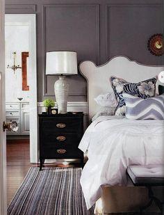 Dark Wainscoting! Home Decor Trends  decorchick.com