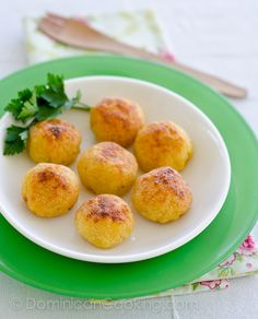 Cheese Crusted Ripe Plantain balls