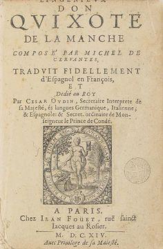 """Courtesy of the Biblioteca de Catalunya : """"Don Quijote de la Mancha. Parte 1"""" by Miguel de Cervantes. (Public Domain)"""
