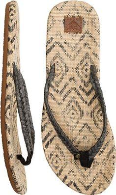 Roxy Mera Braided Sandal. http://www.swell.com/New-Arrivals-Womens/ROXY-MERA-BRAIDED-SANDAL?cs=BL