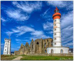 Saint Mathieu, Region Bretagne, Lighthouses, Us Travel, Cosmos, Europe, Sea, World, Building