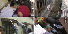 印度家長集體爬牆助學生作弊?!比《逃學威龍》還要強100倍!