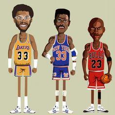 NBA Legends - Basketball Stars