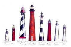 A gallery of fine artist prints of Lighthouses and Sea Maidens & Sea Masters created by Robert Kline of St. All prints are hand labeled and signed in pencil. Road Trip Florida, Ponce Inlet, Fernandina Beach, Cape Canaveral, Beacon Of Light, Jacksonville Florida, Amelia Island, Island Life, Key West
