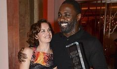 Luther stars Idris Elba and Ruth Wilson reunited on the red carpet last night
