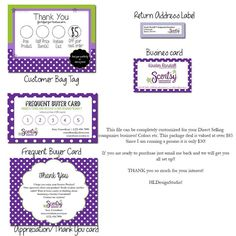 Scentsy+Consultant+Business+Package+by+HannaLandisDesigns+on+Etsy,+$30.00